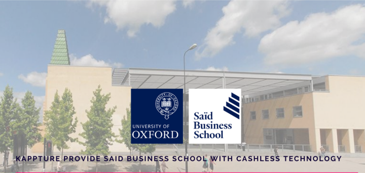 Kappture POS Provides Said Business School with Cashless Technology