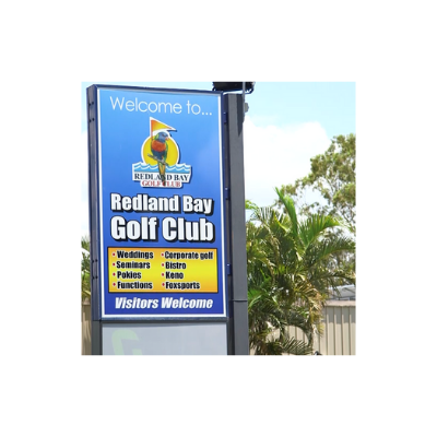 Redland Bay Golf Club Sign