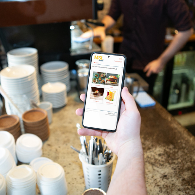 Contactless Ordering<br>and Payments