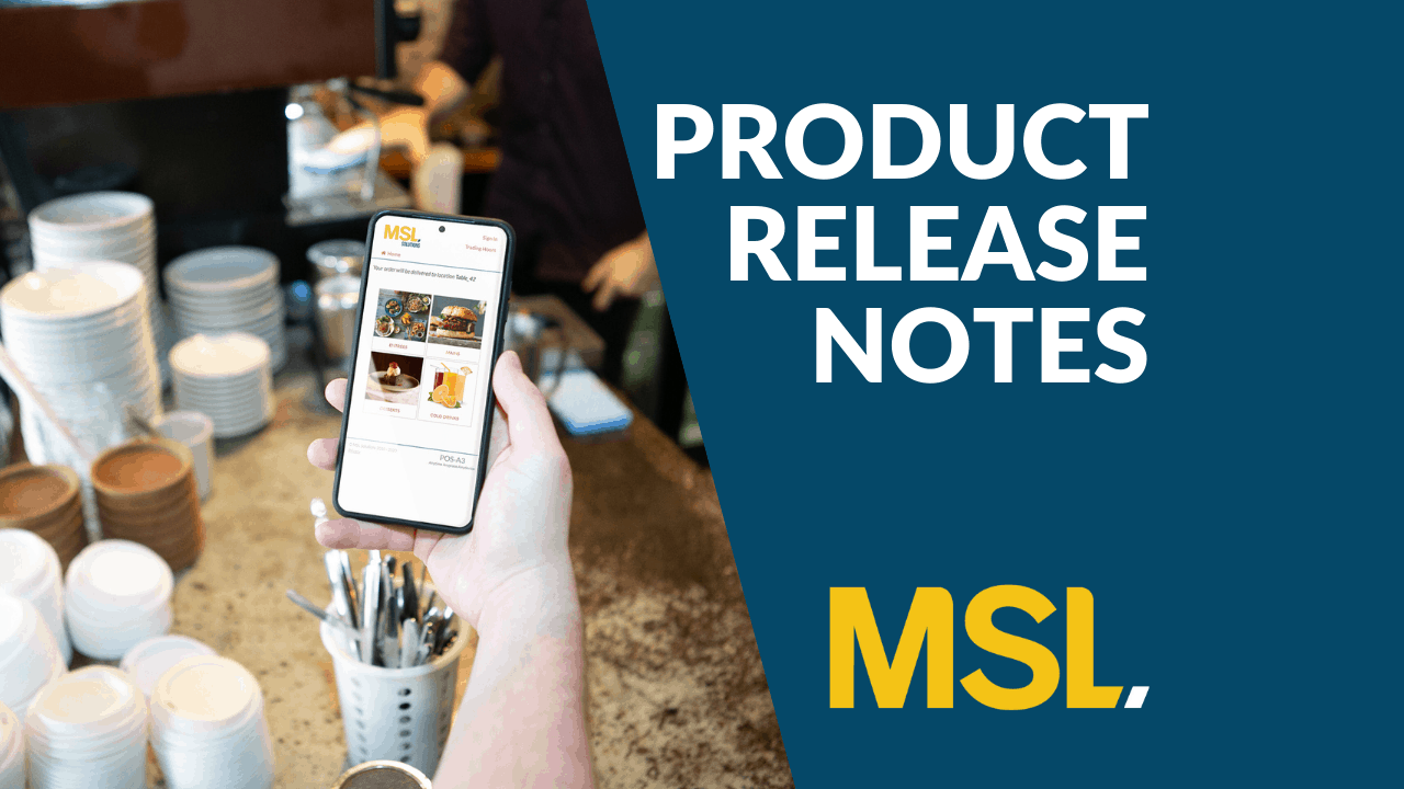 OrderAway Product Release Notes